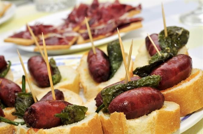 Pintxos - spanske tapas