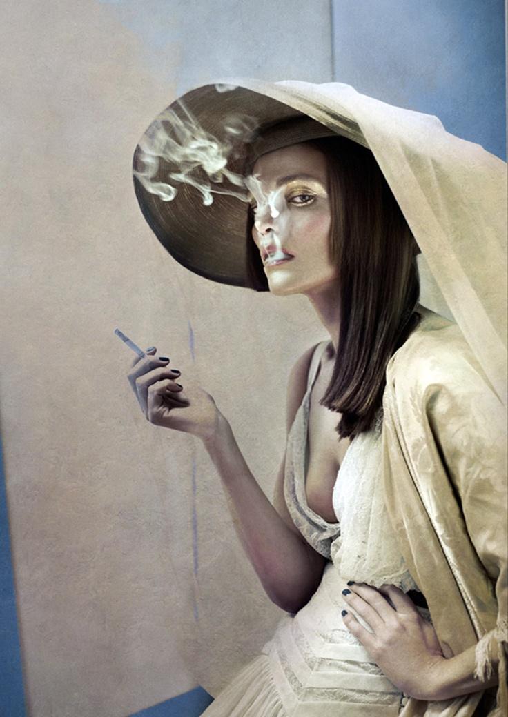 Laura Ponte by Eugenio Recuenco for SModa Magazine.