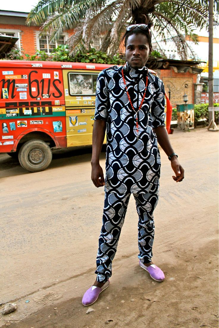 Buba Is The Top And Sokoto Is The Bottom Of A Traditional Yoruba Menswear Style In Nigeria This