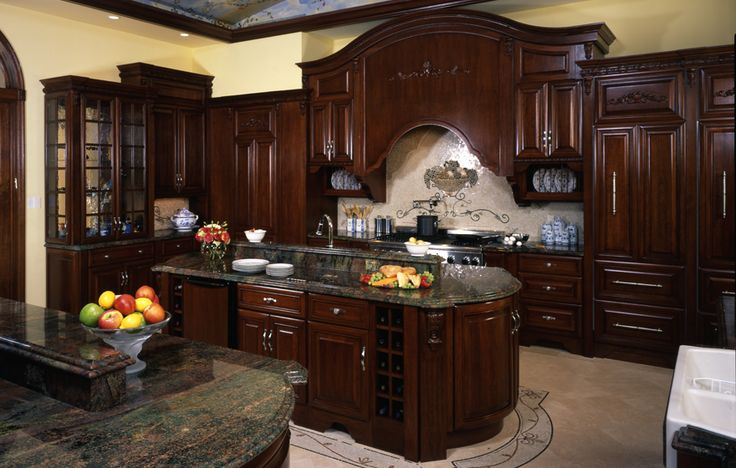 11 best kitchens images on pinterest contemporary unit for Save wood kitchen cabinet refinishers