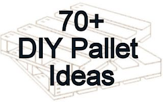 lots of pallet furniture