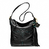 Legacy Anna Sui Dragonfly Large Duffle// My new Coach Purse !!!