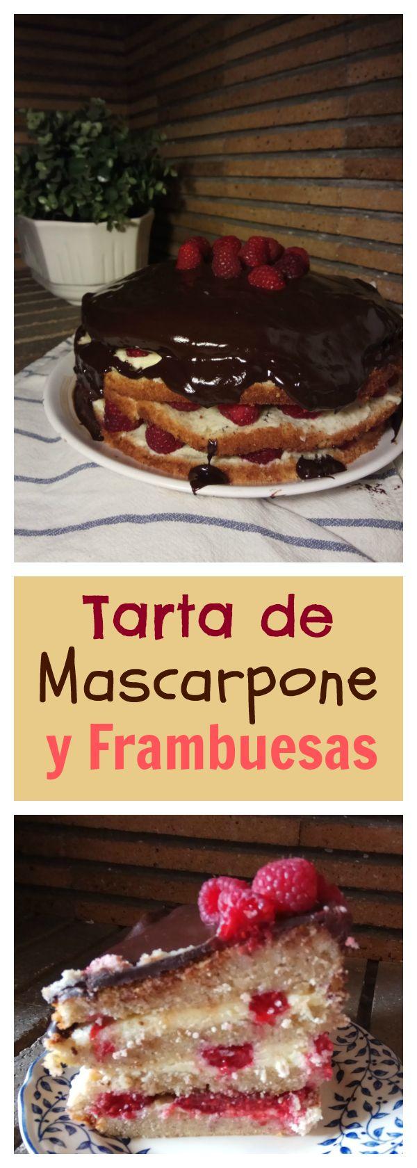 Tarta de Mascarpone y Frambuesas | Videoreceta | Tasty Details
