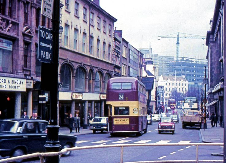 Cheapside and Poultry, Nottingham, 1960s.