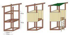 Spielturm Bauzeichnung   – Michael
