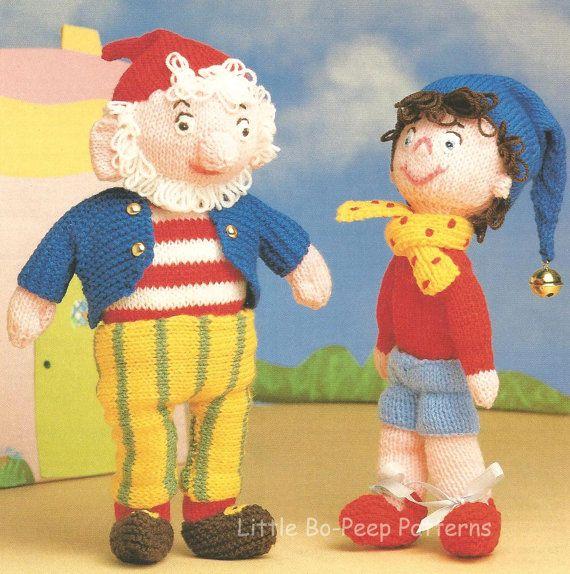 Noddy and Big Ears Toy Toys PDF knitting pattern by BoPeepStore, ?1.35 Heke...