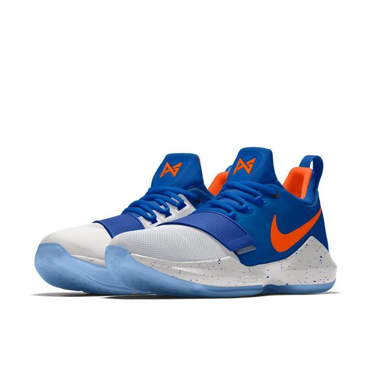 Nuevas opciones en Nike iD para los Nike PG1 inspirados en Oklahoma City.