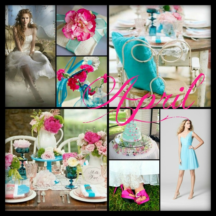 42 Best Color By Month Images On Pinterest Color Scheme Wedding