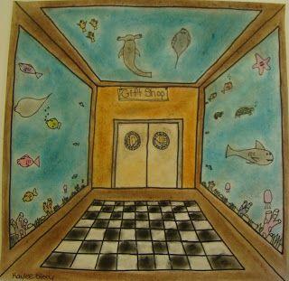 Virginia Heinl's ART Blog: Perspective Aquariums