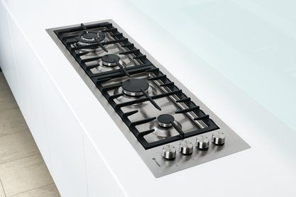 Caple C1071G Recessed gas hob for a narrow space. WxDxH = 1115x321x55mm.