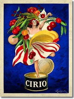 Cirio (Print by Leonetto Cappiello)(38.5 in. X 51 in.)