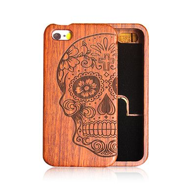 Bamboo Phone Case For Samsung GALAXY S5 S6 Edge S7 PLUS NOTE 5/For Apple Iphone 6 6S PLUS 5 5S SE