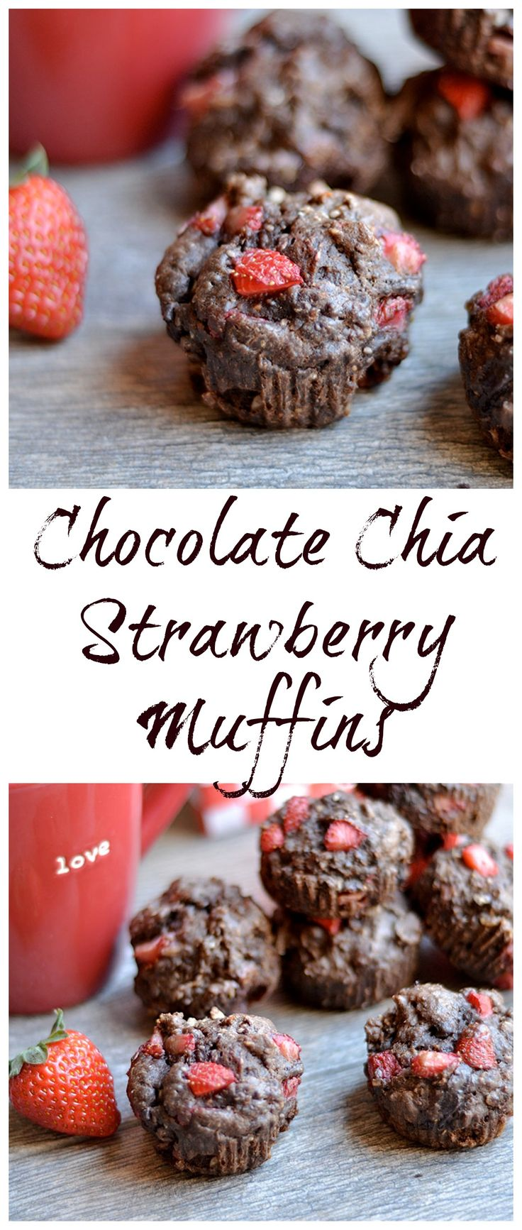 A perfect chocolate-y and strawberry breakfast that is perfect for Valentine's Weekend! Packed with nutrients too!