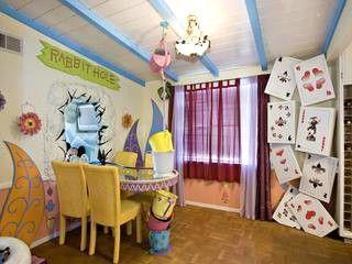 Disney Themed Kids Rooms Alice In Wonderland Themed Room Disney