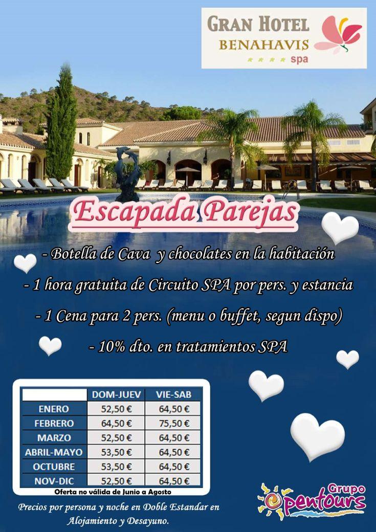 Gran Hotel Benahavis **** (Benahavis, Málaga, Costa del Sol, Andalucía, España) ---- Especial PAREJAS 2018 ---- Desde 52,50 € por persona y noche ---- Resto condiciones de esta oferta en www.opentours.es ---- Información y Reservas en tu - Agencia de Viajes Minorista - ---- #granhotelbenahavis #hotelbenahavis #benahavis #malaga #costadelsol #andalucia #PAREJAS #escapadas #hoteles #vacaciones #estancias #ofertas #familias #niños #agentesdeviajes #reservas #touroperador #mayorista #spain…