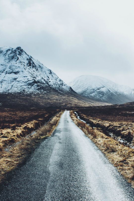 "tulipnight: "" Glen Etive Road by Daniel Casson """