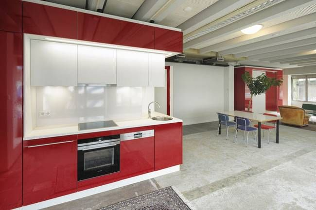 Дизайн мини кухни в квартире-студии