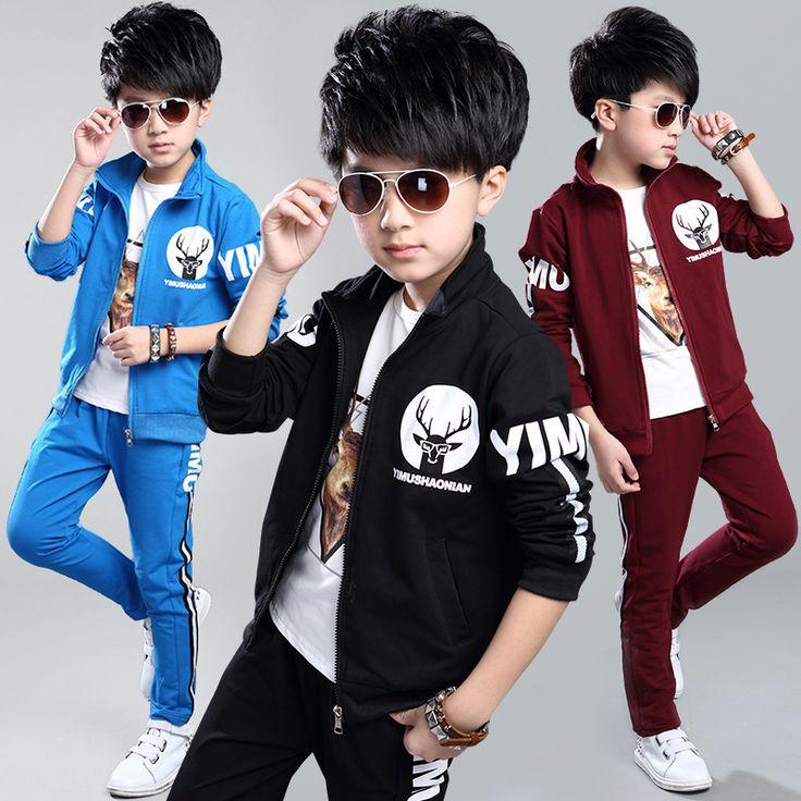 $29.60 (Buy here: https://alitems.com/g/1e8d114494ebda23ff8b16525dc3e8/?i=5&ulp=https%3A%2F%2Fwww.aliexpress.com%2Fitem%2FBig-Boys-Sports-Suits-Long-Sleeve-Cotton-Clothing-Sets-For-Boys-Tracksuits-Cartoon-Running-Set-Teens%2F32719056542.html ) Big Boys Sports Suits Long Sleeve Cotton Clothing Sets For Boys Tracksuits Cartoon Running Set Teens Sportswear 4-15 Years for just $29.60