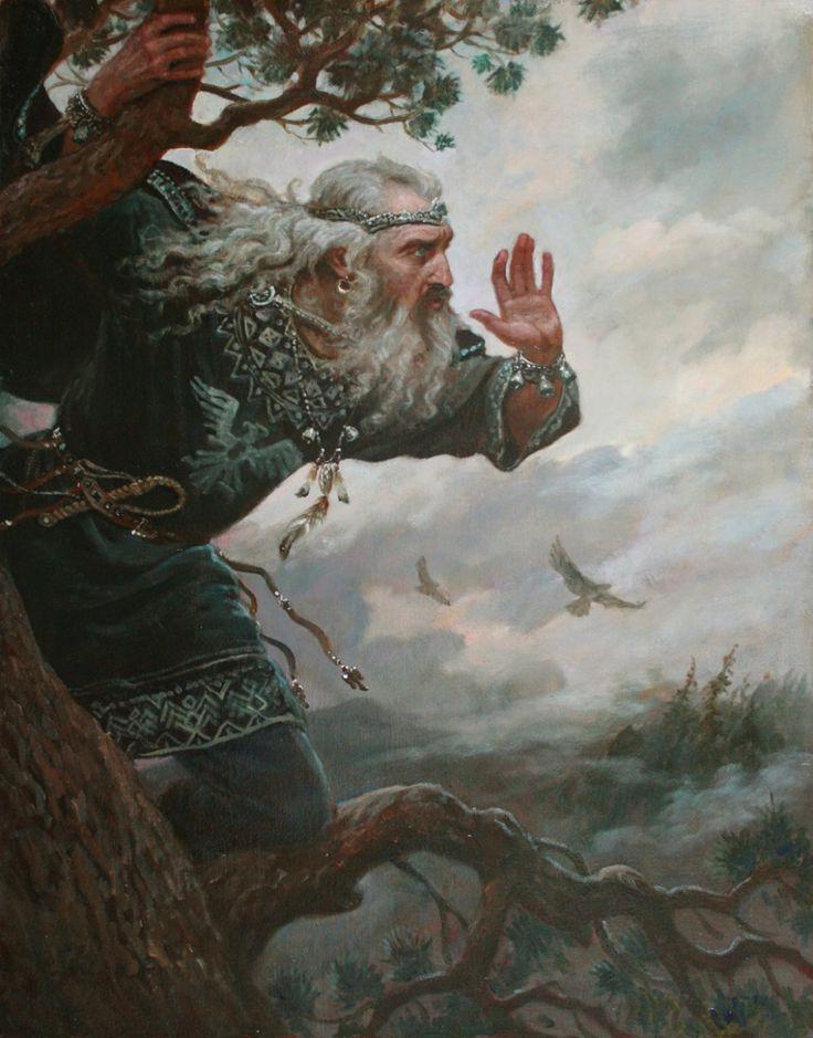 Позвизд – картина художника Андрея Шишкина