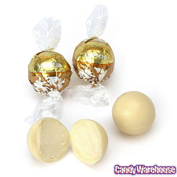 Lindt Chocolate Lindor Truffles - White Chocolate: 120-Piece Box