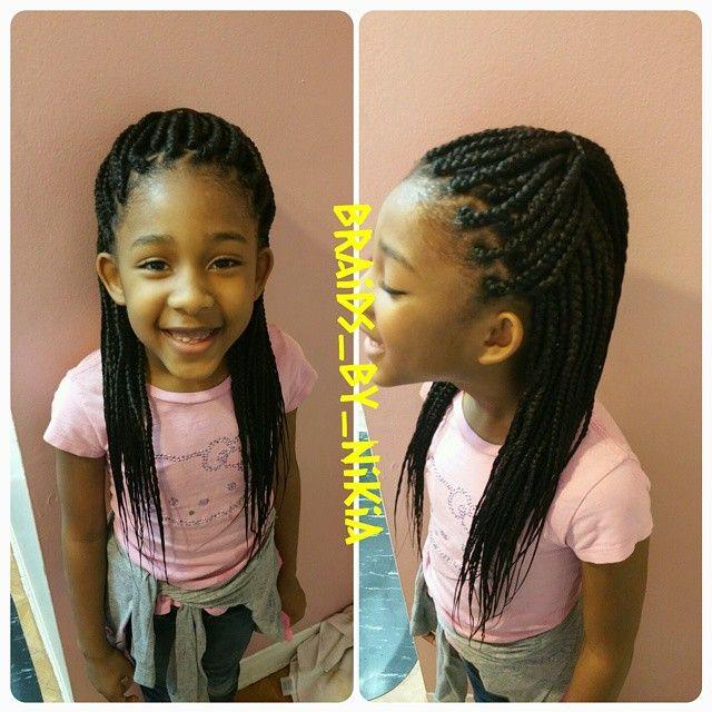 "73 Likes, 4 Comments - BRAIDER TO THE STARZ!! (@kiagotbraidz) on Instagram: ""Kids individual braids! #individualbraids #singles #boxbraids #poeticjusticebraids #atlsalon…"""