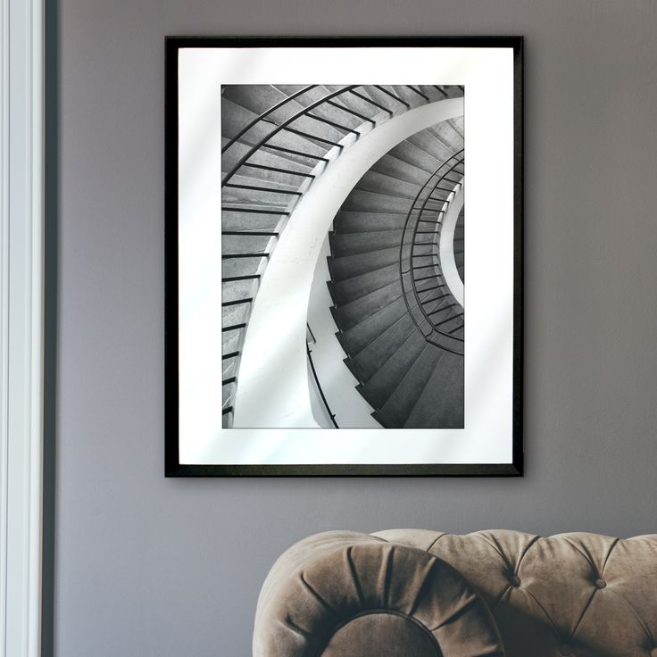 Architectural art, never fails to bring instant sophistication to a space!