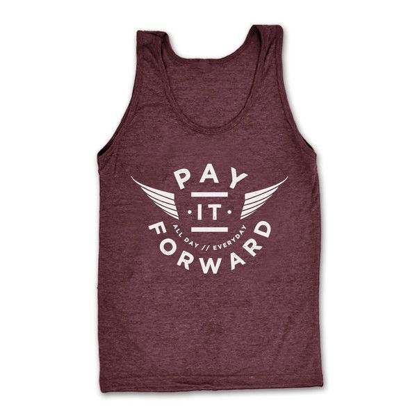 This tank features a nice loose drape, and perfect for layering. Ultra soft and ultra comfy. You won't want to take this tank off! #Payitforward