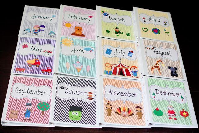 Preschool at home lesson plans & organization tips