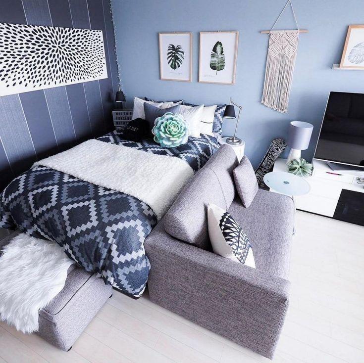 20+ Fabulous Small Apartment Studio Deko-Ideen   – Apartment
