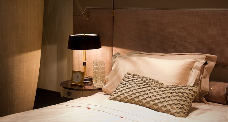 Miles table lamp brings back the atmosphere of sophistication inspired by the 50's | Discover more: http://masterbedroomideas.eu/