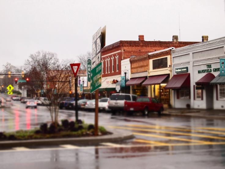 Small town of Covington, GA.