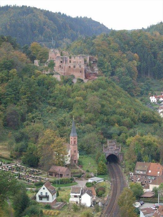 The Frankenstein Castle of Rheinland-Pfalz, Germany