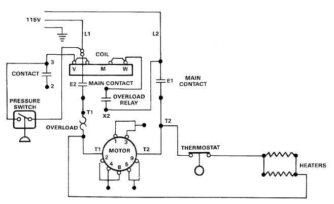 Electric Motor Controls Wiring Diagram Electrical