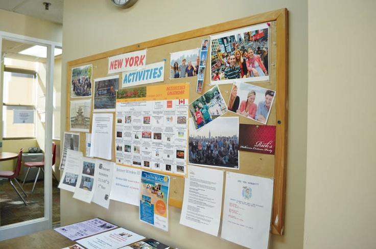 掲示板で学校やニューヨークの情報をチェックしましょう! レナートの詳しい情報はこちらから!  http://www.ilisny.com/rennert