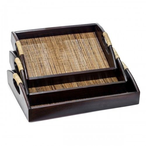 Ngali Lidi | nampan tray kayu lidi hotel desain dekorasi dapur murah interior design decoration furniture