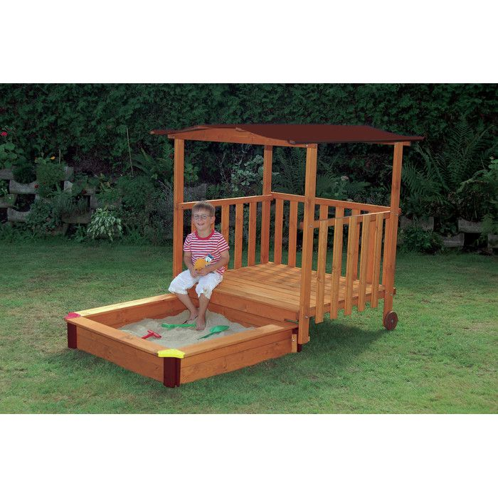 24 best Carrés de sable images on Pinterest Sandbox ideas, Toys - Maisonnette En Bois Avec Bac A Sable