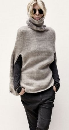 .I love modern takes on classic looks. This looks very Scandinavian