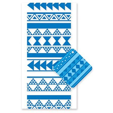 Hawaiian Candy Lei Kit Tapa Blue