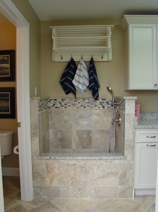 Dog Shower In Laundry Room Built Ins