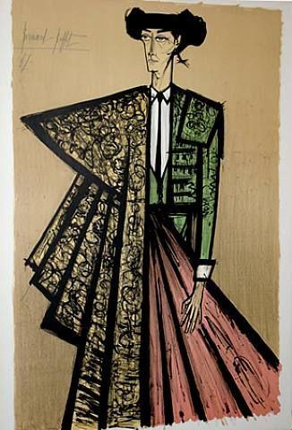 Bernard Buffet Lithographs   Bernard Buffet (1928-1999). Toréador. Lithographie en couleurs ...