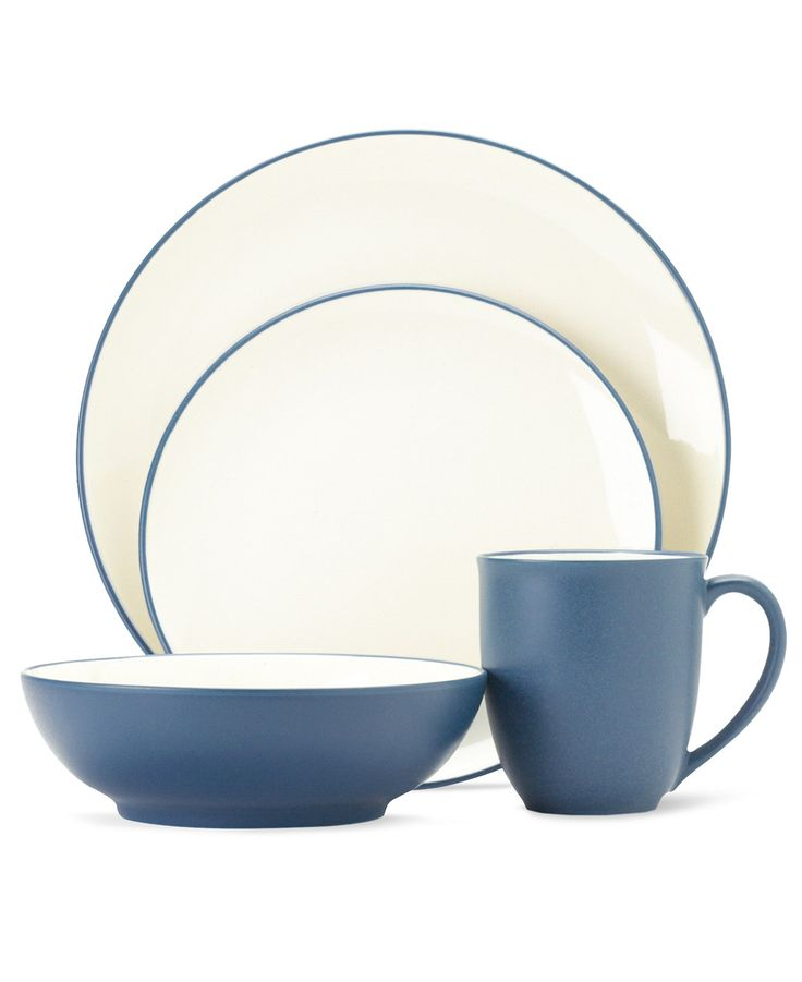 noritake dinnerware colorwave blue coupe collection casual dinnerware dining u0026 macyu0027s