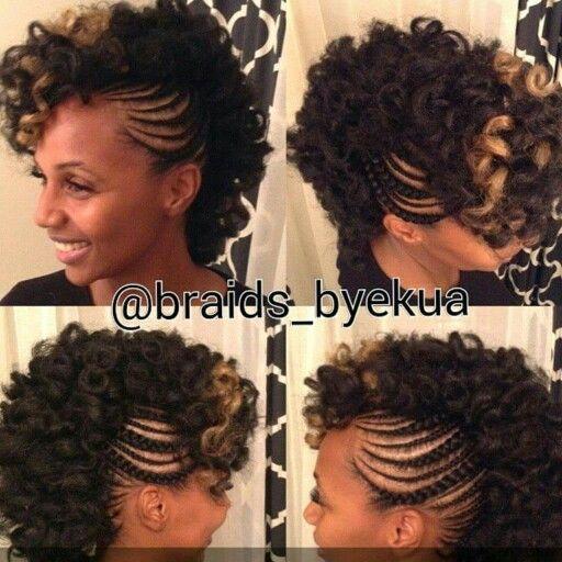 best 25  braided mohawk hairstyles ideas on pinterest