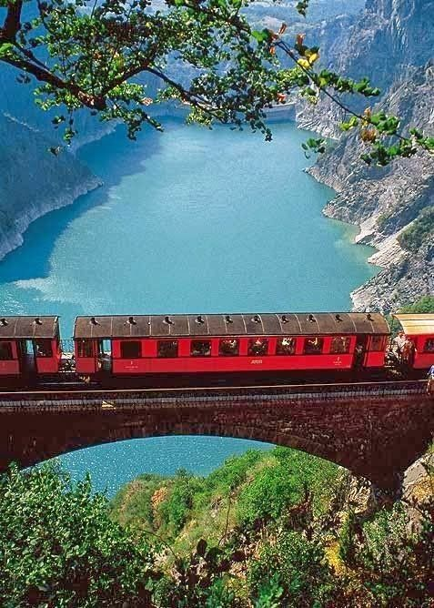 Mountain Railway in Grenoble, France