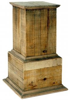 Wooden Flower Stand. A Block and Chisel Product.