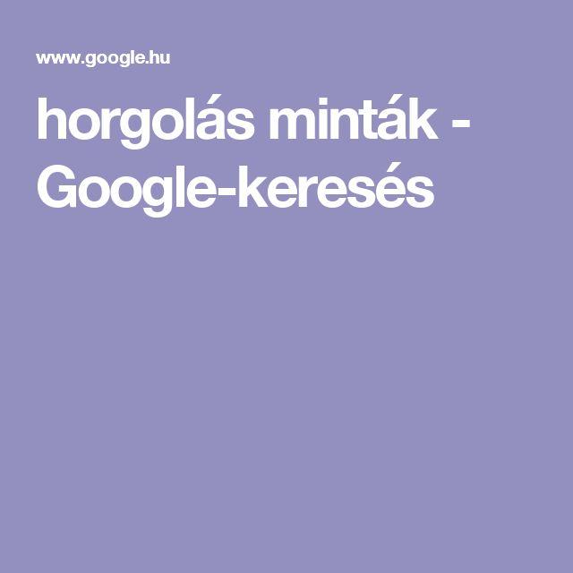 horgolás minták - Google-keresés