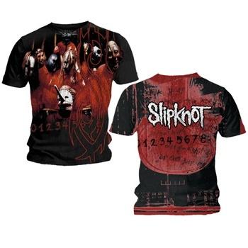 Slipknot Debut Band All Over Shirt