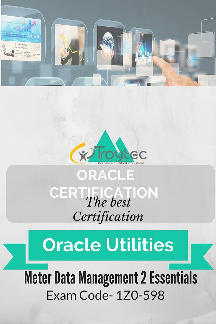 #Oracle Utilities Meter Data Management 2 Essentials Exam #1Z0_598