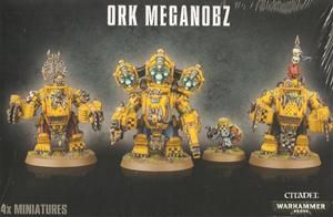 Ork Meganobz / Big Mek in Mega Armour - 380kr