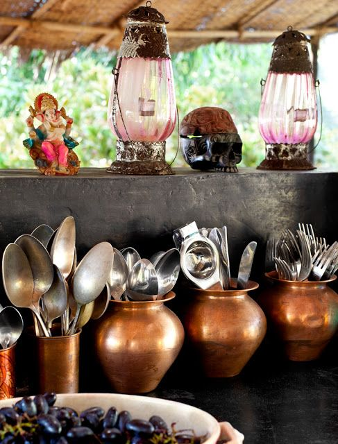 my scandinavian home: Jade Jagger's home in Goa, India