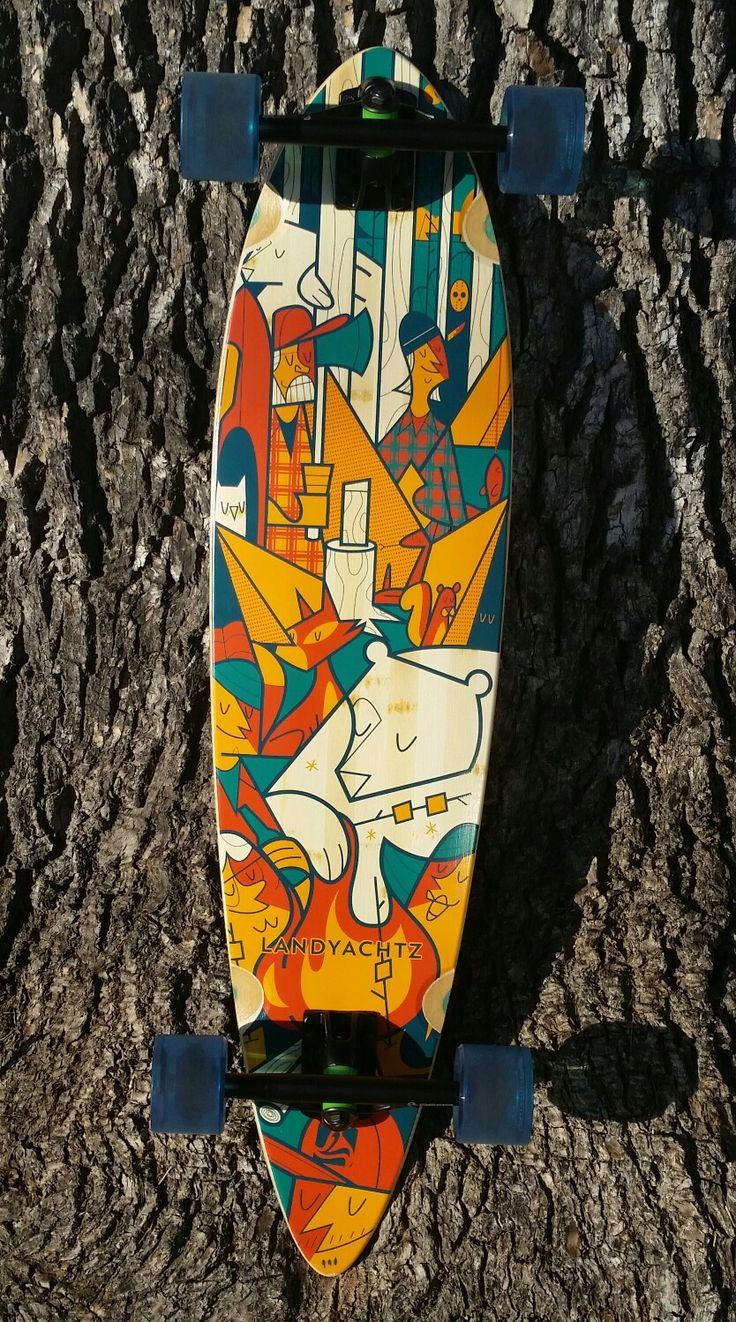 Love my board landyachtz bear hawgs long boards